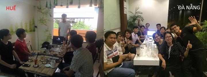 thuyết trình cảm hứng tại Huế & Đà Nẵng