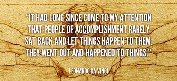 thành công là gì, danh ngôn cuộc sống, da vinci