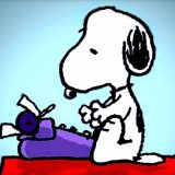 sharpen-snoopy-writing