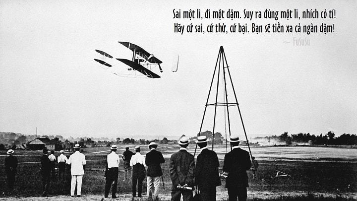 cách học giỏi, anh em nhà wright chuyến bay đầu tiên, edison