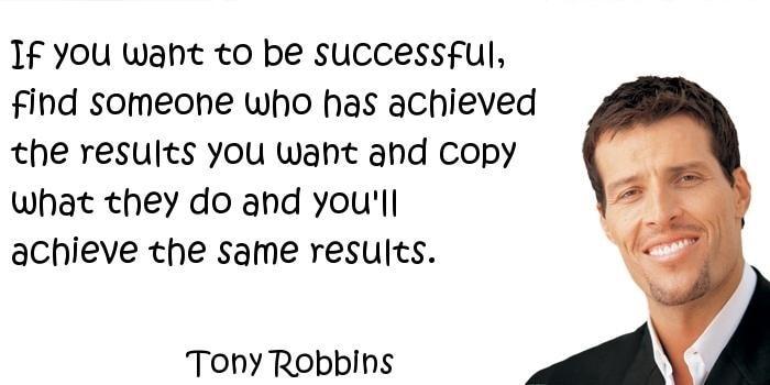 Cách học giỏi - Tony Robbins danh ngôn