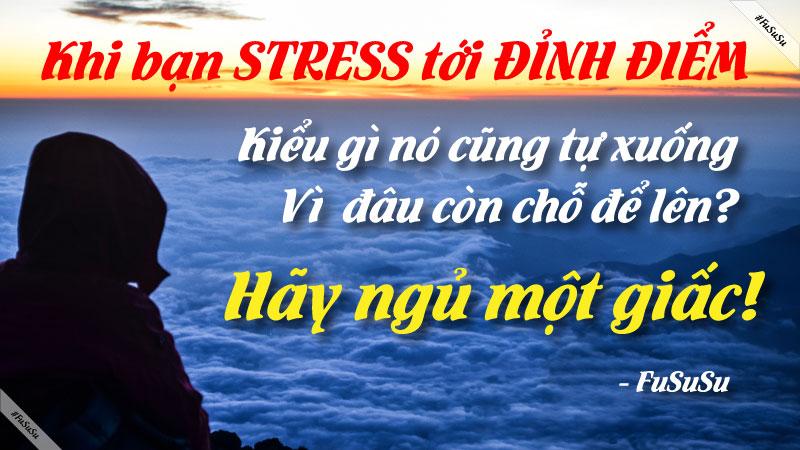 Cách giảm stress hiệu quả nhất giữa ban ngày