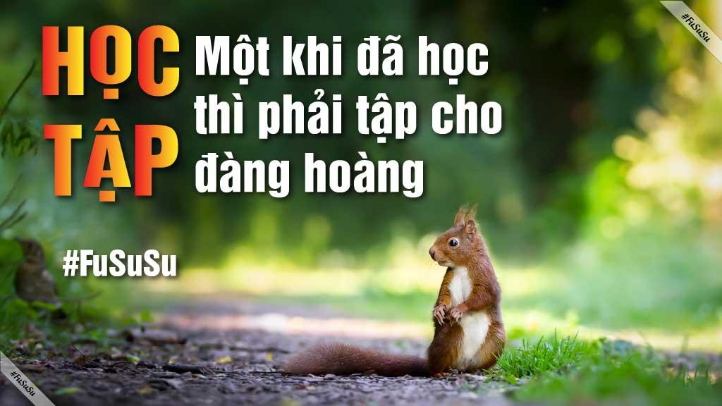 tự học tiếng Anh giao tiếp - quote một khi đã học, phải tập cho đàng hoàng